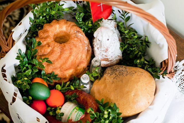 Święcenie pokarmów na stół wielkanocny